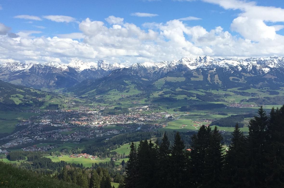 Auszeit Allgäu Berge